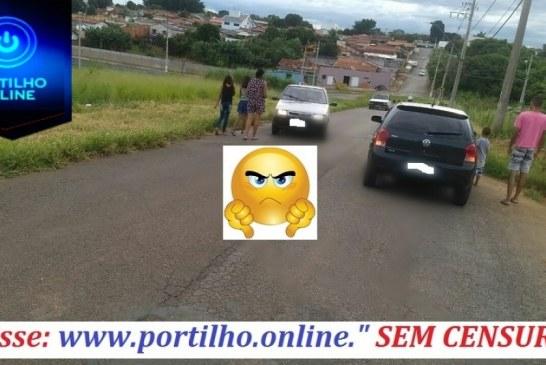Cadê as calçadas e passeios da Rua Major Tobias Machado-Marciano Brandão?