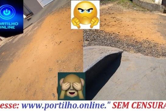 Cadê o asfalto prefeito Deiró Marra? Moradores imploram…