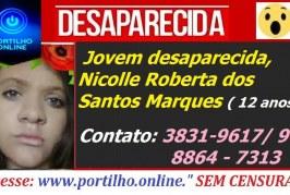 Jovem desaparecida, Nicolle Roberta dos Santos Marques ( 12 anos)