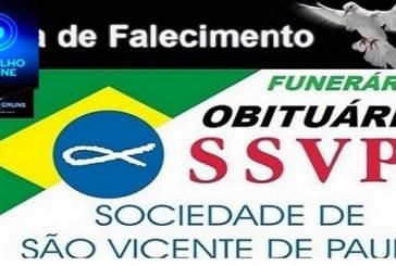 👉🤔😱⚰😓 OBITUÁRIO! FUNERÁRIA FREDERICO OZANAN INFORMA…