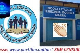 """Escola Estadual Terezinha Moreira Marra alcança primeiro lugar na avaliação do """"SIMAVE"""" no 3º ano médio em Língua Portuguesa"""