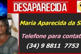 DESAPARECIDA!!! Maria Aparecida da Silva.