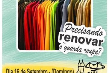 BAZAR BENEFICENTE NESTE DOMINGO DIA, 16/09/2018 NO CLUBE DAS ROMÃS