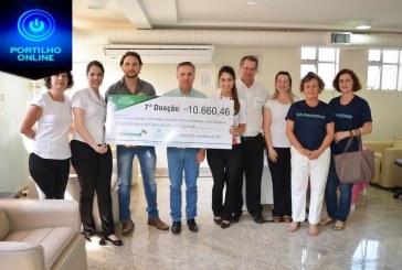HC Patrocínio recebe mais de R$ 10,6 mil no sétimo repasse da Campanha do Troco da Farmácia Nacional