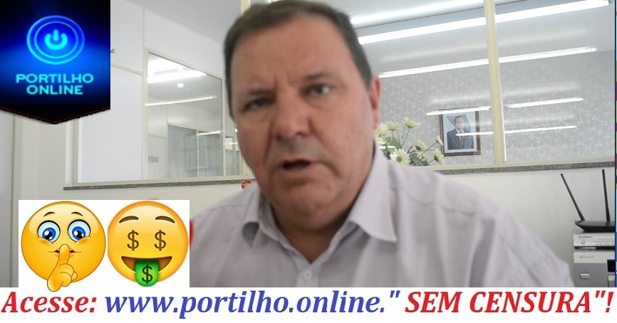 """O PREFEITO DISSE… É """"COMPROMISSO MEU DAR O AUMENTO""""!!! DIZEM QUE SERIIIIAAA DE 5% CENTO???"""
