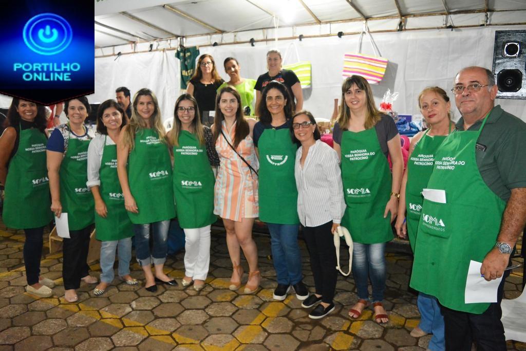 I Festa de São Pelegrino em prol do HC Patrocínio começa com enorme sucesso e vai até o dia 17/02