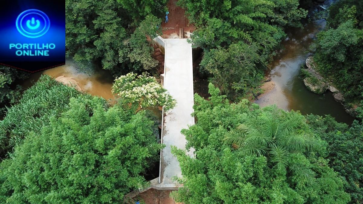Ponte da Pirapetinga será inaugurada no sábado dia 16