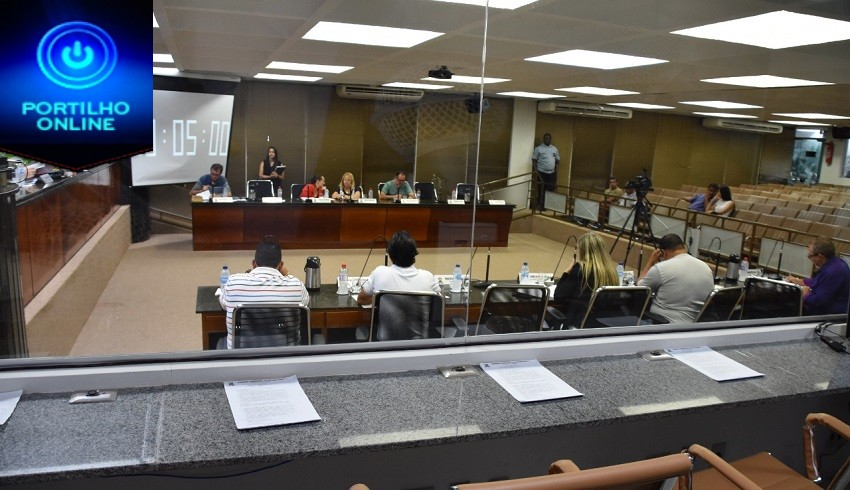 Câmara Municipal de Patrocínio cancela 4a Reunião Extraordinária