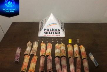 PM APREENDE DROGAS NO BAIRRO SANTO ANTÔNIO/PATROCÍNIO