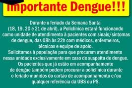COMUNICADO URGENTE!!! O CARRO FUMACÊ VAI PASSAR NO SEU BAIRRO. CONFIRA…