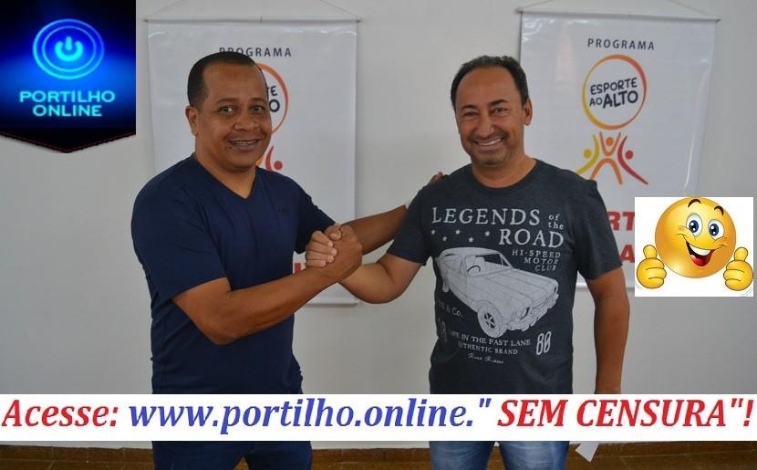 👉👏👍⚽🏀🏈🏸🏑🎾 Novo secretário de esporte Fabinho gasolina e subsecretário Maurinho falam das novas metas no esporte.