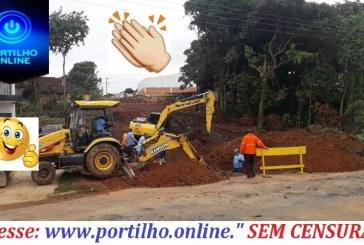 👉👍👏👊😃 As obras não param… Rua Pinto Dias é drenada para abertura definitiva em breve.