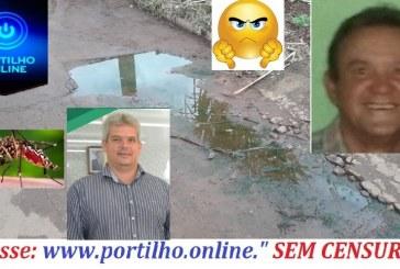 👉🤭😱🤔😠👎 Portilho, Aí meu brother fais uma matéria aí para mim foco de dengue aki em Guimarania já reclamaram para o prefeito mais nada foi feito