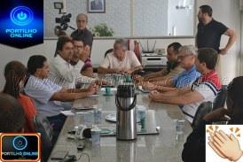 """👉😱🚨🚓🚔🤔👏👍 Aconteceu uma reunião na sala do gabinete do prefeito com o secretário de trânsito e transportes sobre a operação """"SAFRA""""!e segurança pública."""
