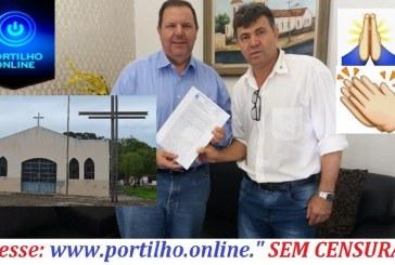 👉👏👍👌🙏👊🙌👏👏 Iniciativa do Valtinho do Jandaia levará à construção da Igreja do Rosário
