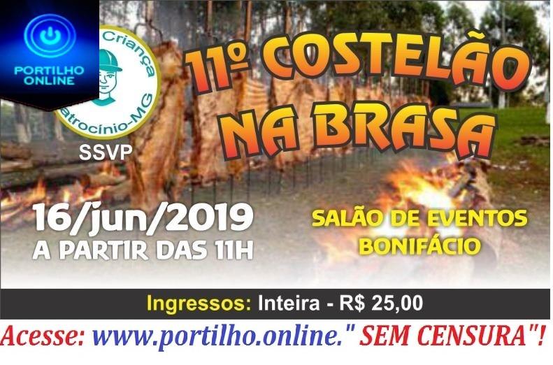 👉👏😋👌🙌  É NESTE DOMINGO DIA, 16/06/2016.Lar Da Criança Patrocinio convida…O tradicional👉😋👌 11º COSTELÃO NA BRASA.