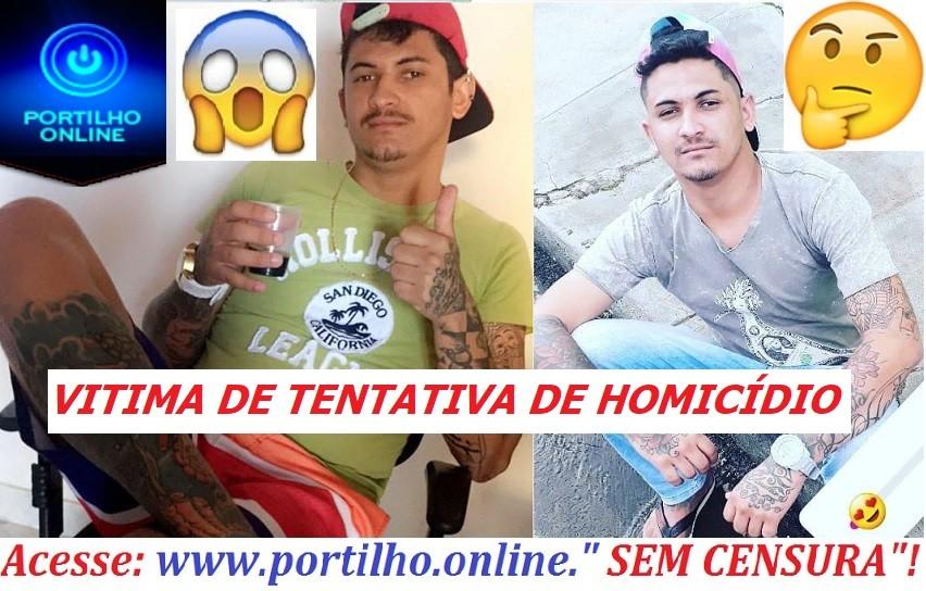 👉🚓🚨💥🔫🚔😱 Tatuador foi vítima de tentativa de homicídio. (Douglinha- tatuador – 22 anos)