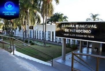 CÂMARA INFORMA… A Câmara Municipal de Patrocínio realiza na próxima quarta-feira, às 19h, sua última sessão solene de 2019. 40ª REUNIÃO ORDINÁRIA