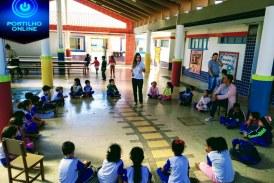 Programa Crescer Saudável leva combate à obesidade infantil às escolas