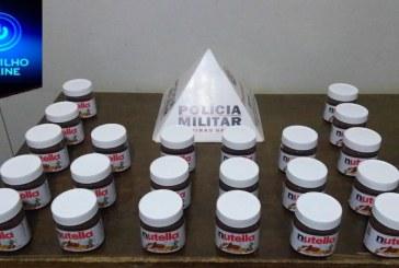 ladra de chocolate é presa após furtar 22 potes de Nutella no supermercado Bernardão Morada Nova