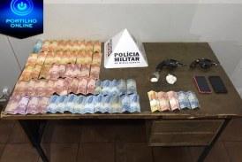 Polícia Militar prende autores por tráfico ilícito de drogas próximo ao terminal rodoviário