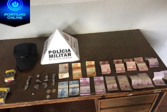 Polícia Militar prende um autor e apreende um menor por tráfico de drogas