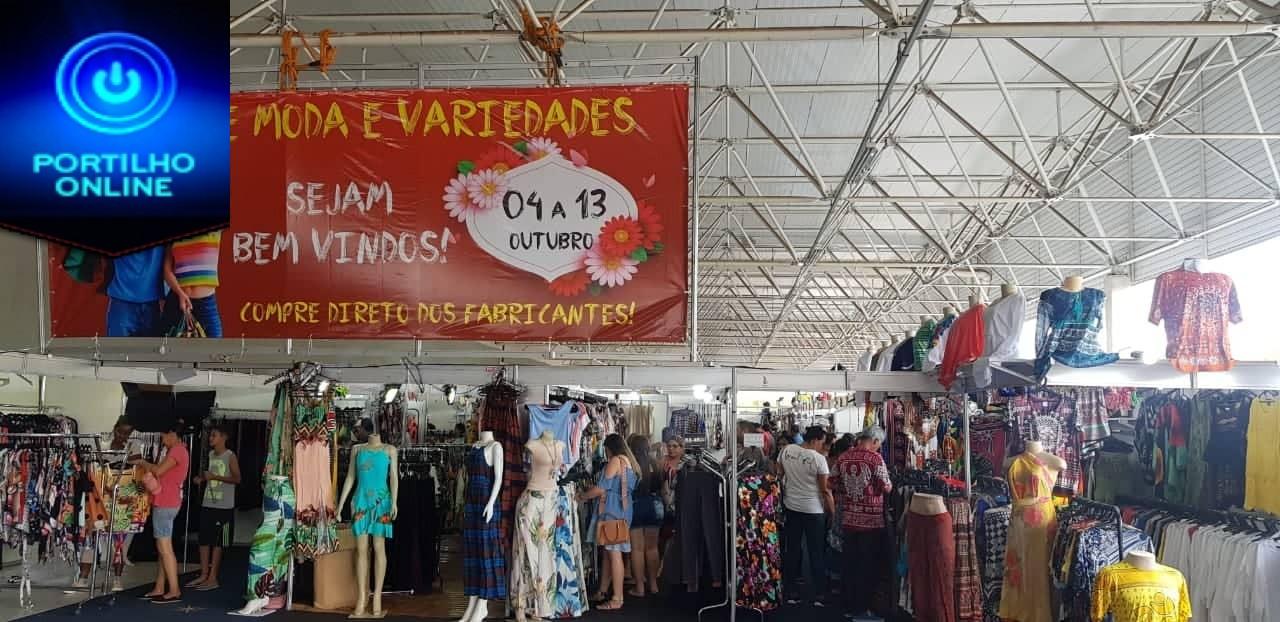 E continua a maior feira de malhas da região