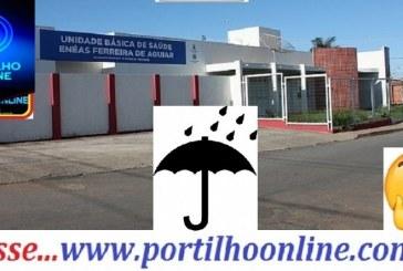 👉🌧⛈🌦🙄😳😱Parou de gotejar? E a unidade de saúde bairro Enéas melhorou os atendimento?