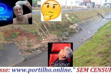 """👉👊😡🤔😱😳Esta desmoronando o """"rego do Betinho"""" na Avenida Armando de Queiroz."""