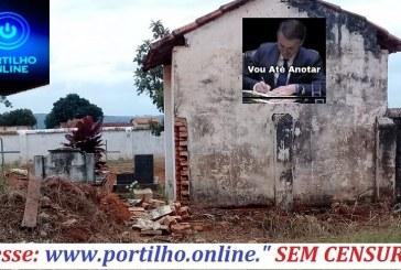 👉😱🤔🕯⚰🙄🏠COMUNIDADE DE BOA VISTA PEDE… Cemitério precisando de melhorias e reforma.