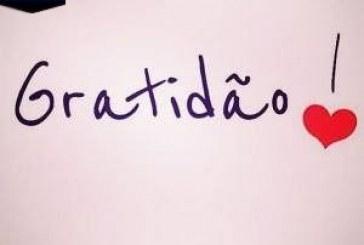 Agradecimento…