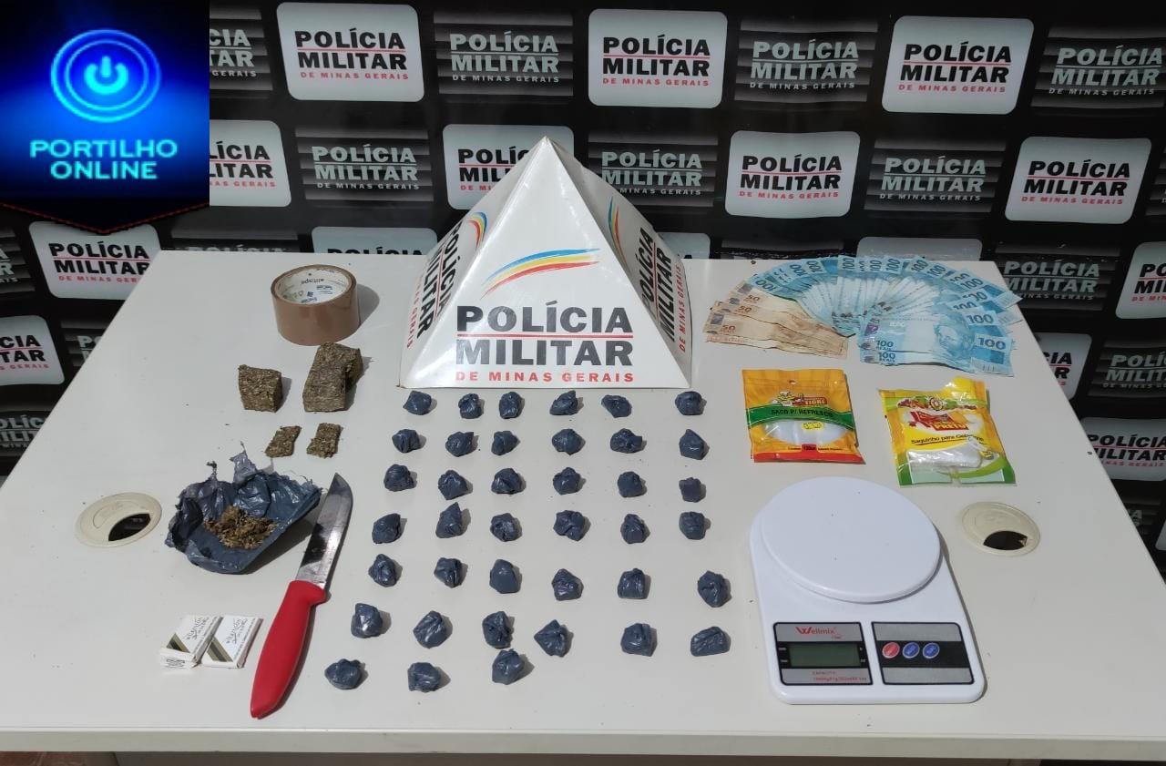 👉🚔🚨📞☎🚑🚒🔫OCORRÊNCIAS POLICIAIS…Polícia Militar prende autores por tráfico e apreende drogas.