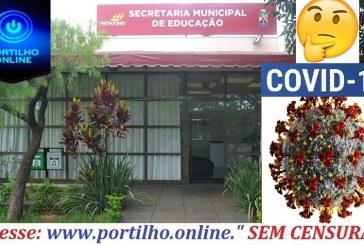 👉😷💉🔬🌡😔😷🧐Secretaria Municipal da educação, funcionários estariam com o COVID-19.