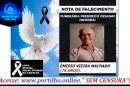 👉 😔⚰🕯😪👉😱😭😪⚰🕯😪 NOTA DE FALECIMENTO…Faleceu o Srº EMIDIO VIEIRA MACHADO (76 ANOS).… FUNERÁRIA FREDERICO OZANAM INFORMA…