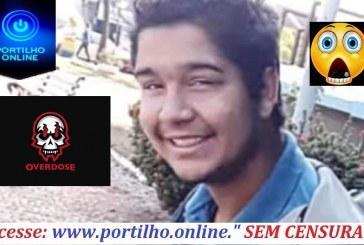 👉😱😱🤔😮😠☹😭⚰🕯 OVERDOSE FOI A CAUSA MORTE!!! Gabriel Henrique Pessim de Freitas (20 anos).