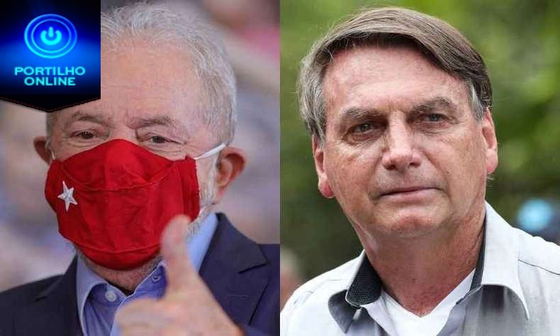 👉😱👊🤔😮👉Datafolha: Lula segue à frente de Bolsonaro e, no 2º turno, tem 56% contra 31%