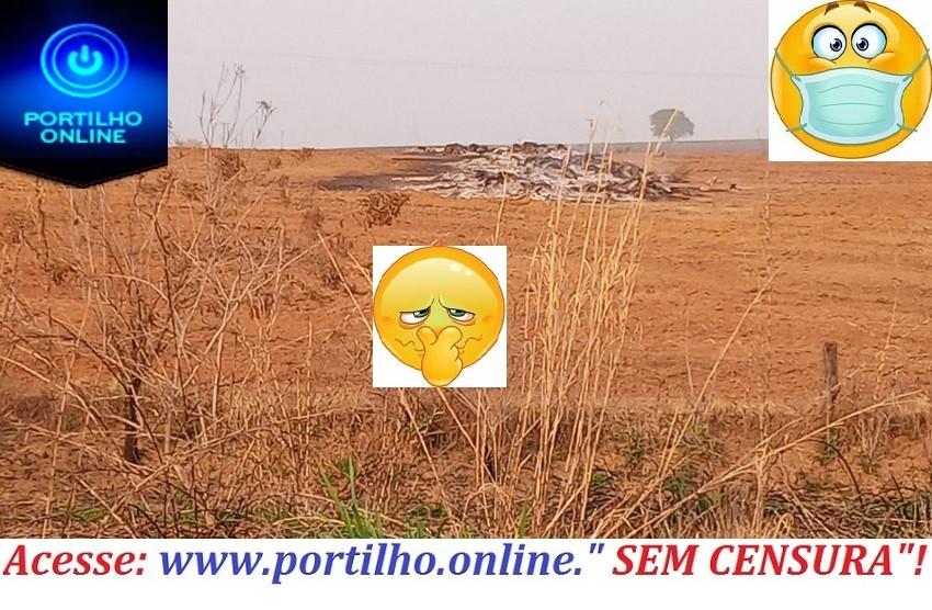 👉😡😷🤧🌪💨🌬🌪🔥Boa noite… Portilho aqui no povoado de São Benedito nós estamos um problema de poluição grave.