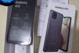 👉👍👏📲Vende-se Celular A12 Samsung zero na caixa.