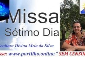 👉😭😪⚰🕯🙏🙌😔MISSA DE 7º DIA E CONVITE…Funeraria Sao Pedro e Principe da Paz.. Senhora Divina Maria da Silva.