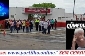"""👉👊🚨✍😱😮⚖🚔🚓CENTRO ESPORTIVO """"PEUCA"""" QUE FOI INAUGURADO DIA, 16/10/2021, JÁ COMEÇARAM OS BUCHICHOS!!!"""