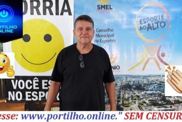 Professor Delinho fala da importância do novo projeto social esporte ao alto.