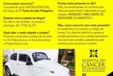 VOCÊ PODE AJUDAR!!!  FESTA EM LOUVOR A SÃO PELEGRINO NA PRAÇA SANTA LUZIA. TODA A RENDA EM PROL DO HC.