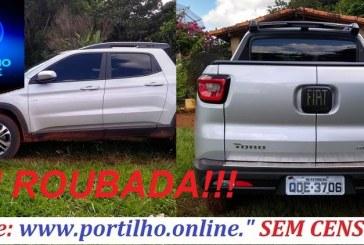FOI ROUBADA!!!! PICK-UP TORO ROUBADA!!