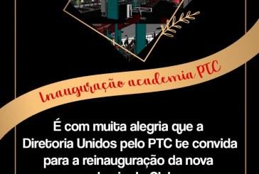 👉👏👏👍🏋🏋️♀️🏅🏆ACADEMIA DO PTC SERÁ REINAUGURADA NESTE DOMINGO DIA, 20/09/2020 ÁS 09:HORAS DA MANHA.