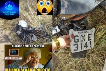 👉🙄🚨🚔🤔😮😱🏍🛵MOTO JOGADA E ABANDONADA NA BR 365 ENTRE O CAIPIRÃO E O TREVO DE COROMANDEL PODE SER MOTO ROUBDA.