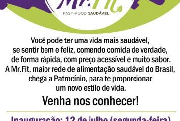 👉👍👏🍴🍽👏INAUGURA NESTA SEGUNDA FEIRA, DIA 12/07/2021 O Mr. Fit. na Praça Honorato Borges.
